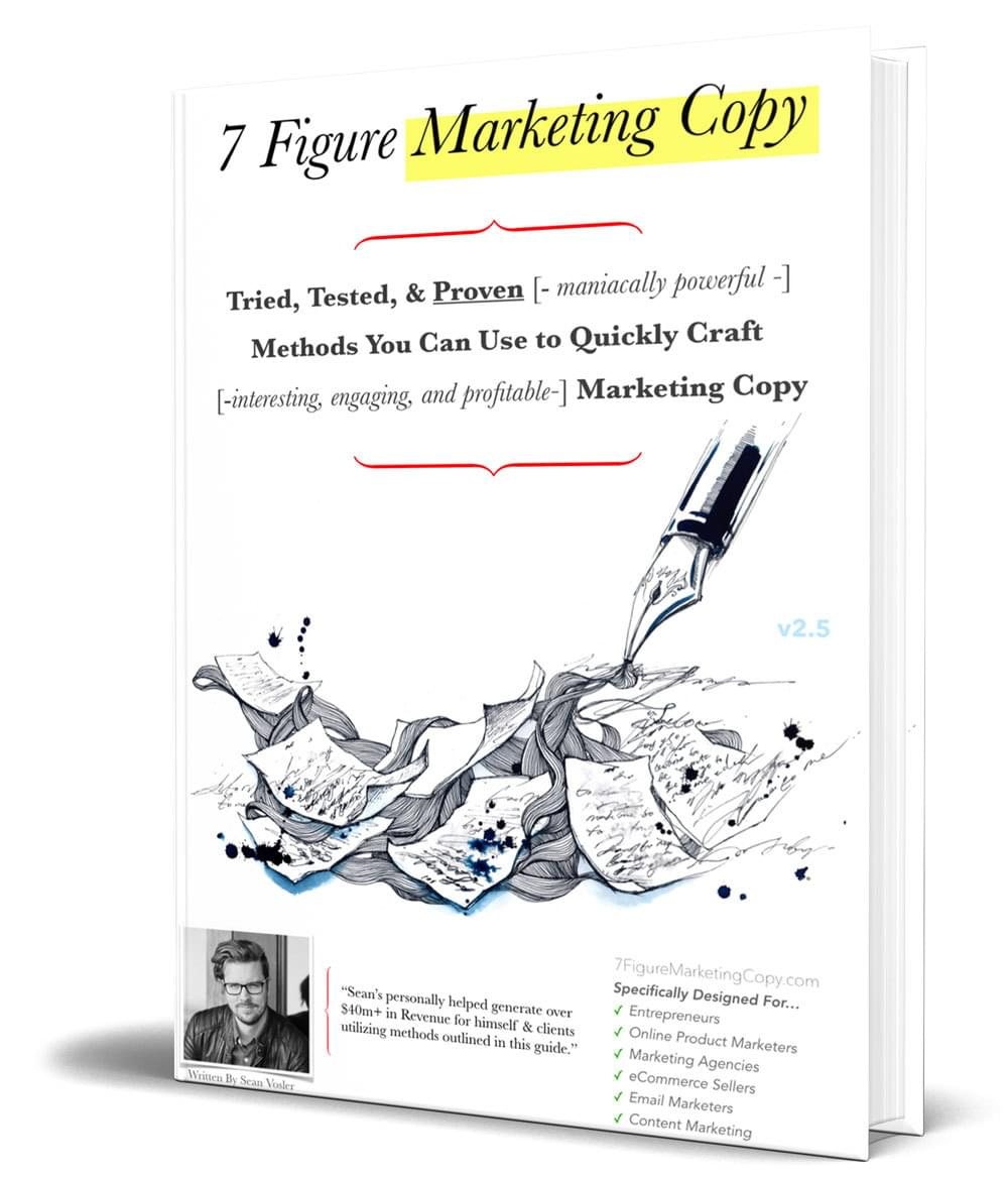 7 figure marketing copy PDF