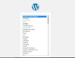 wordpress redirect to install.php