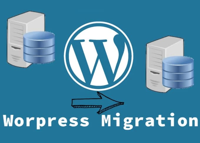migrate large WordPress site